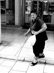 Old lady in Zadar by Blizzard1975