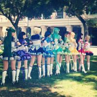 Rainbow Senshi by LadyStaba