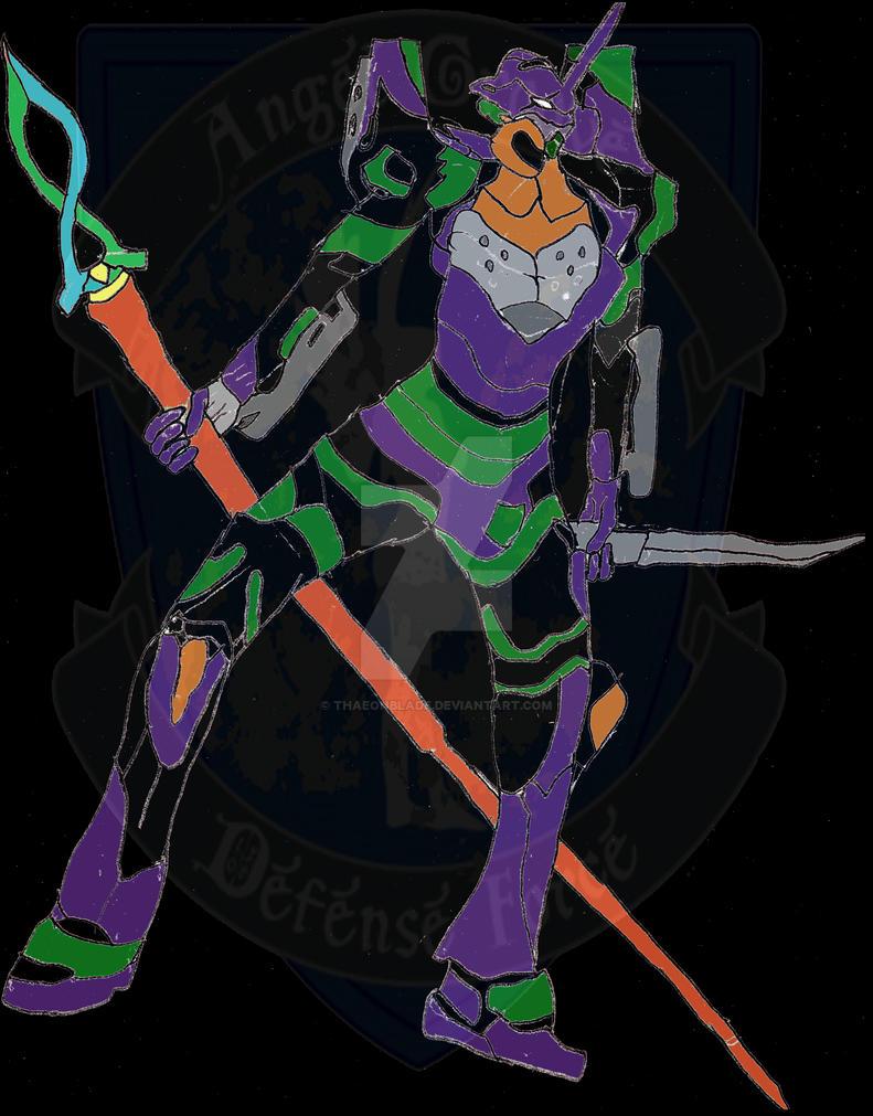Mecha Ranger: Evangelion 01 ANIMA by Thaeonblade