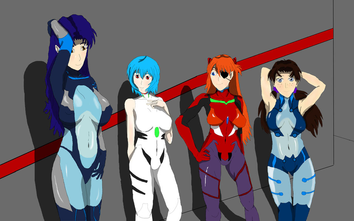 The Girls are Ready to Launch by Thaeonblade