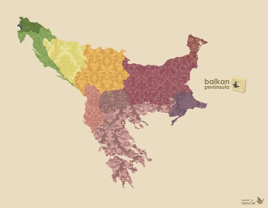 Balkan Peninsula by yavor on DeviantArt