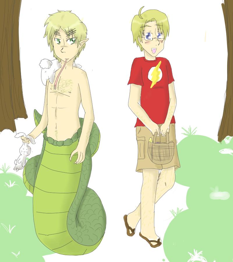 Blood Link Manga Chapter 8: I Love My Naga By JessicaBlood On DeviantArt