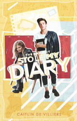 The Bad Boy Stole My Diary    Wattpad Cover