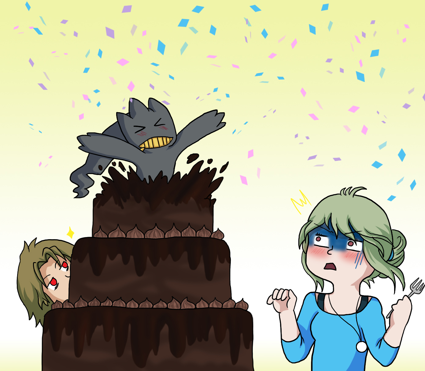 Nevr There Cake