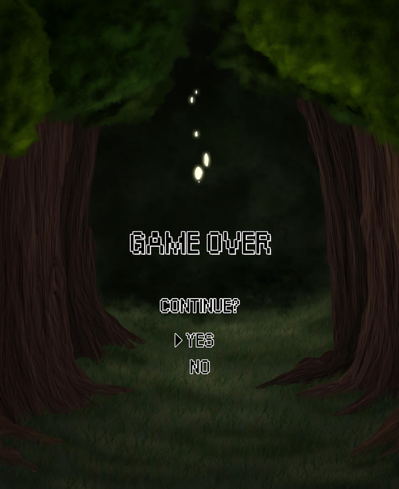 Game Over by IamaCutie