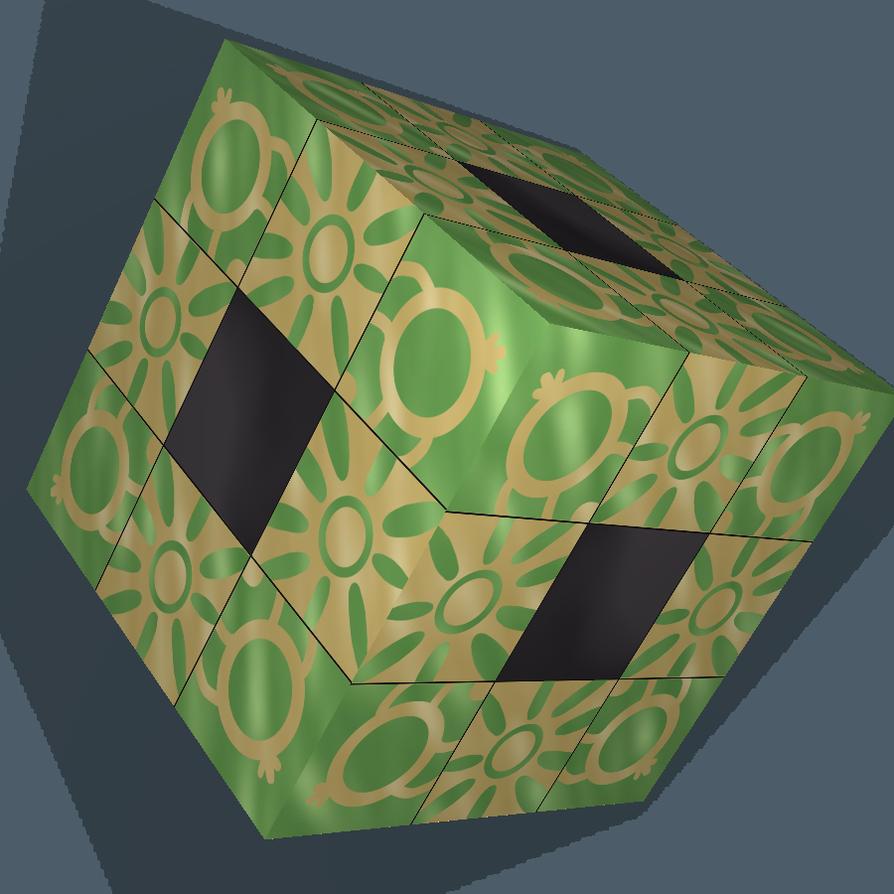 Menger Sponge by IamaCutie