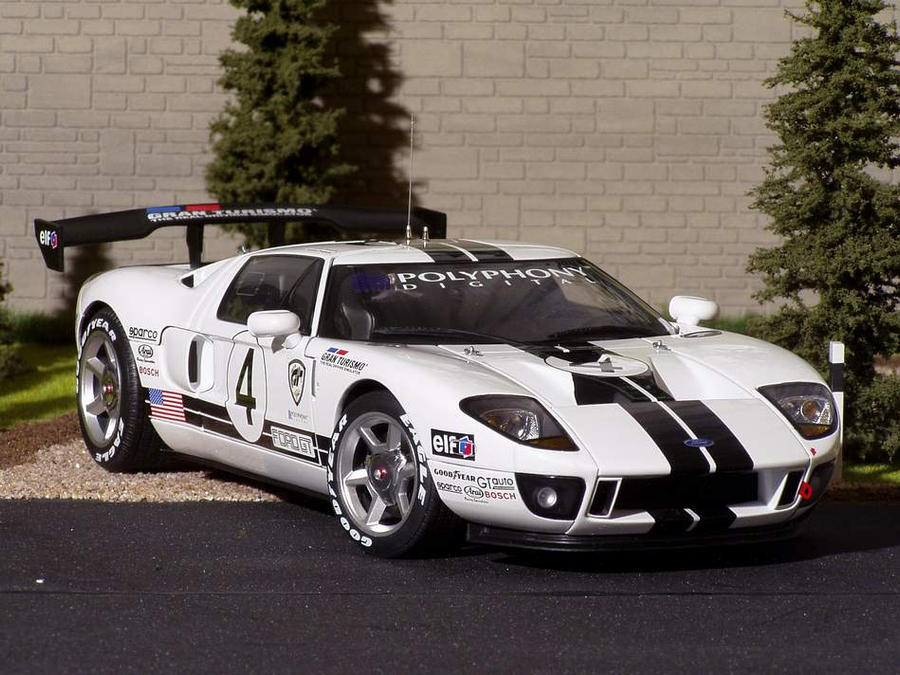 Ford Gt Lm Race Car By Redshadow
