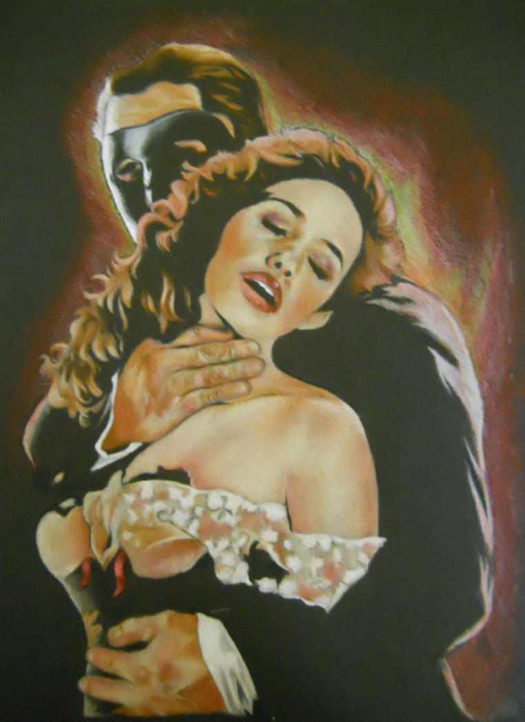 phantom of the opera mask wallpaper