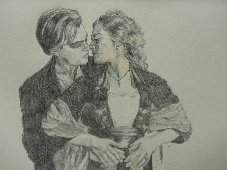 Jack and Rose by drawing2be on DeviantArt