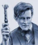 Matt Smith - Eleventh Doctor Who by baslergrafik