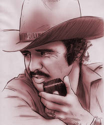 Burt Reynolds by baslergrafik