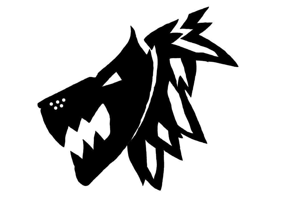 wolf symbol commission space marine related by