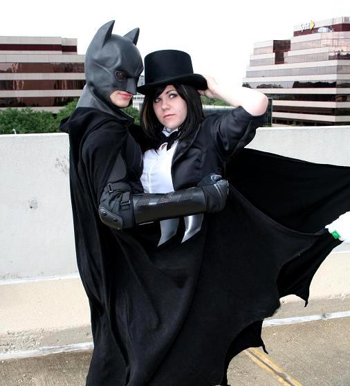Zatanna x Batman by Ononoke