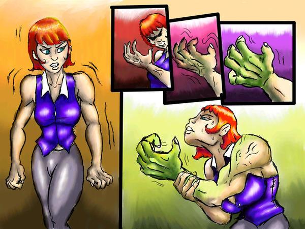 Suburban She Hulk 1 By SilverBulletProof