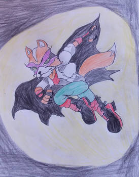 Fox McCloud  the masked, vampire