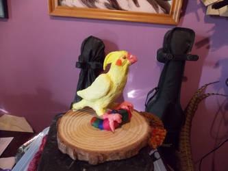 sculpture of Jacky
