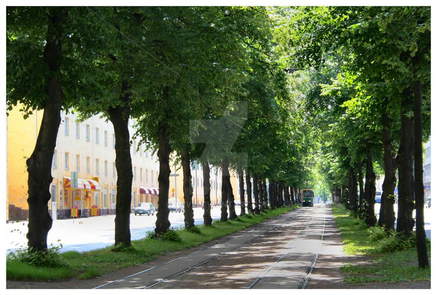 Helsinki Tram by xuvi