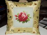 Tea Rose Pillow