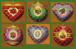 Timeless Elegance Ornaments by ShadowWingLG