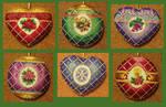 Timeless Elegance Ornaments