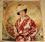 Japanese Maiden-X Stitch DONE