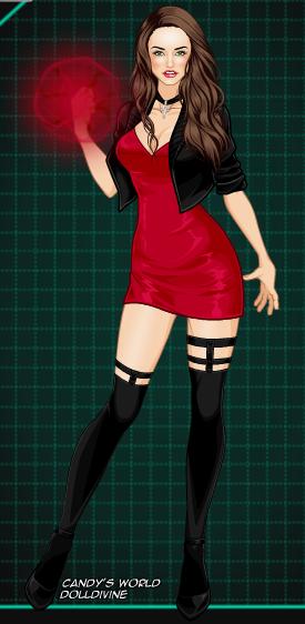 My style for Wanda Maximoff by FractureBountyHunter