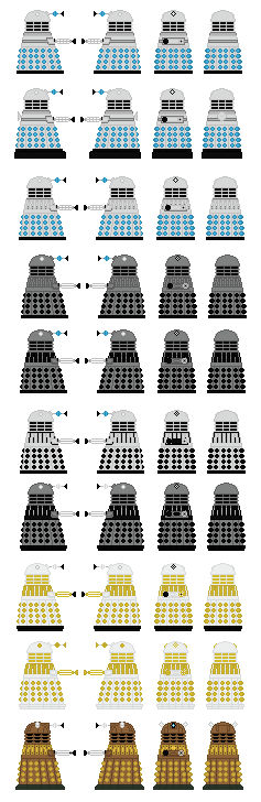 Every Dalek Drone EVER