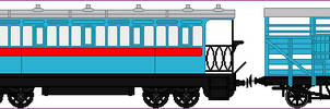 Titfield Branchline train