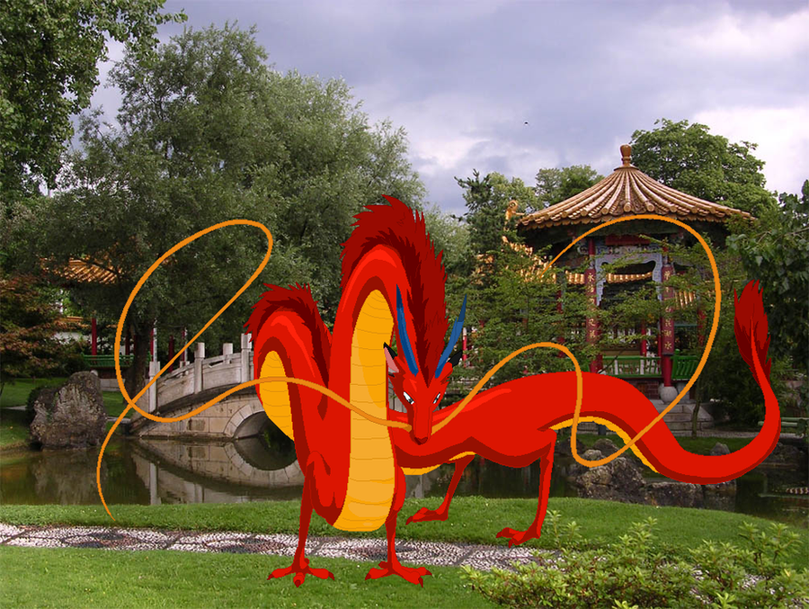 Real Mushu in China by AxelHonoo