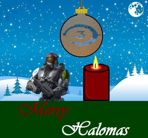 Merry Halomas and Xmas. by AxelHonoo