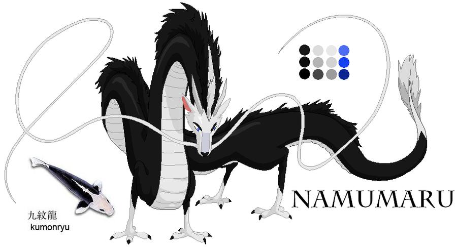 Namumaru Ref by AxelHonoo