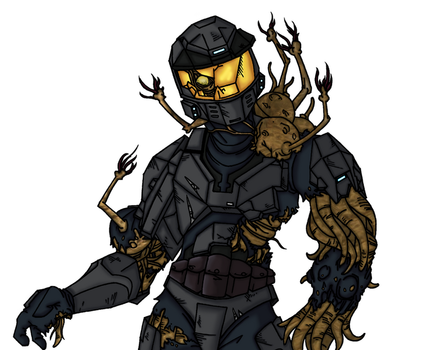 Flood Spartan WIP by AxelHonoo