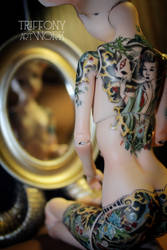 BJD Sphinx of porcelain by TriffonyArtwork
