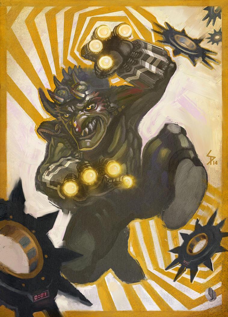 Telekinetic Goblin by ameoname
