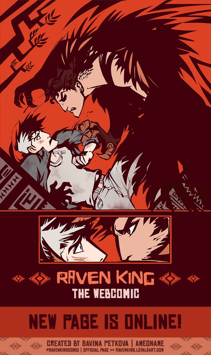 08.01. NEW RAVEN KING PAGE ONLINE by ameoname