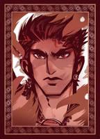 Garvan, the Raven King by ameoname