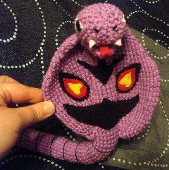 Custom Arbok Amigurumi Plushie by Lunarchik13