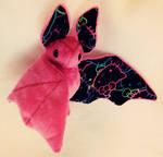 Hello Kitty Custom Bat Plush