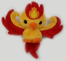Pokemon GO! Team Valor Moltres Plush ~ SOLD! by Lunarchik13