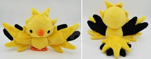 Pokemon GO! Team Instinct Zapdos Plush