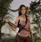 Lara Croft by jules2626