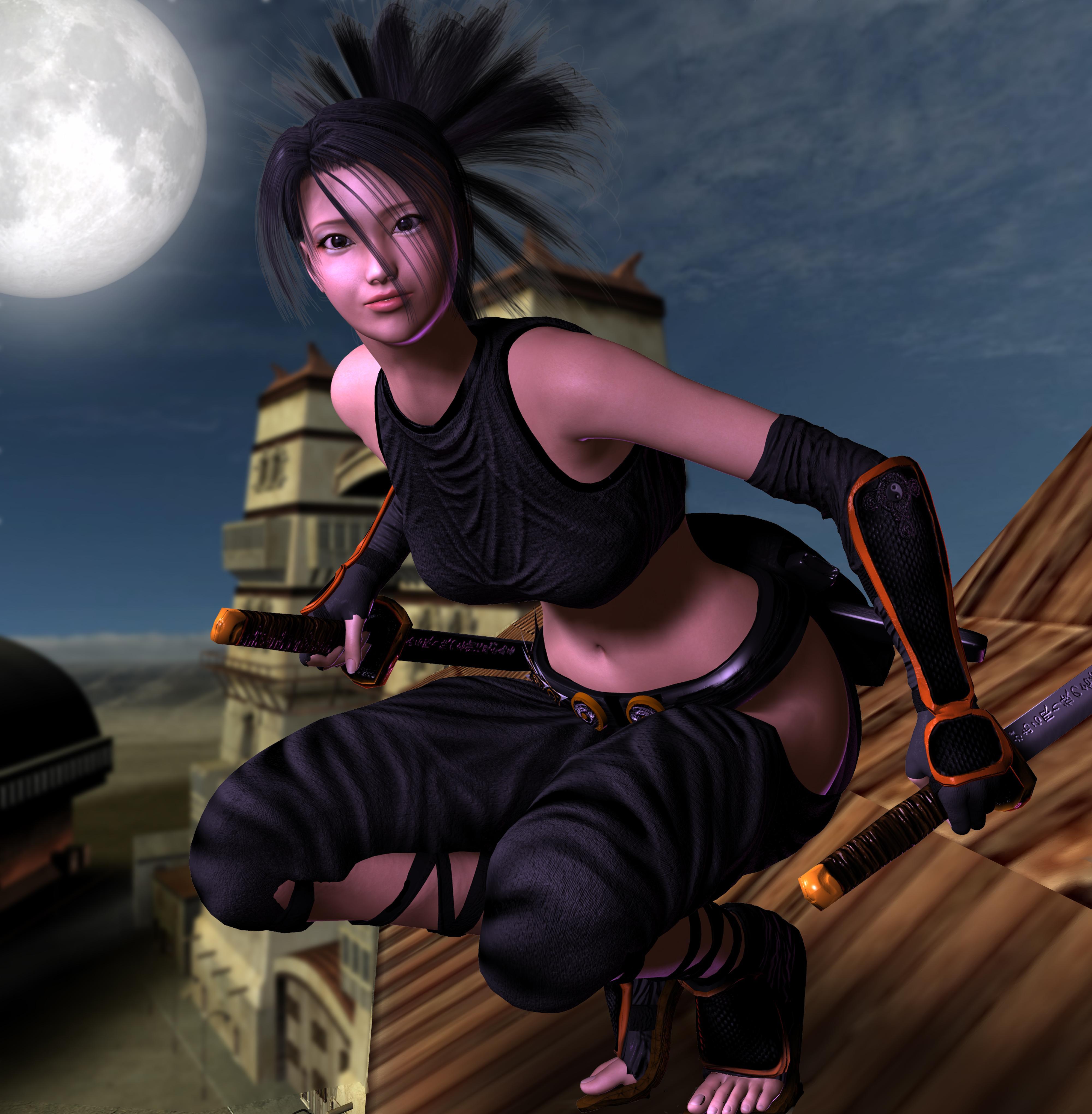 Tenchu Ayame Moonlight Ninja By Jules2626 On Deviantart