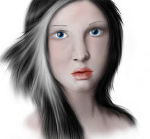 Esmerelda Portrait by BuntschwarzSue