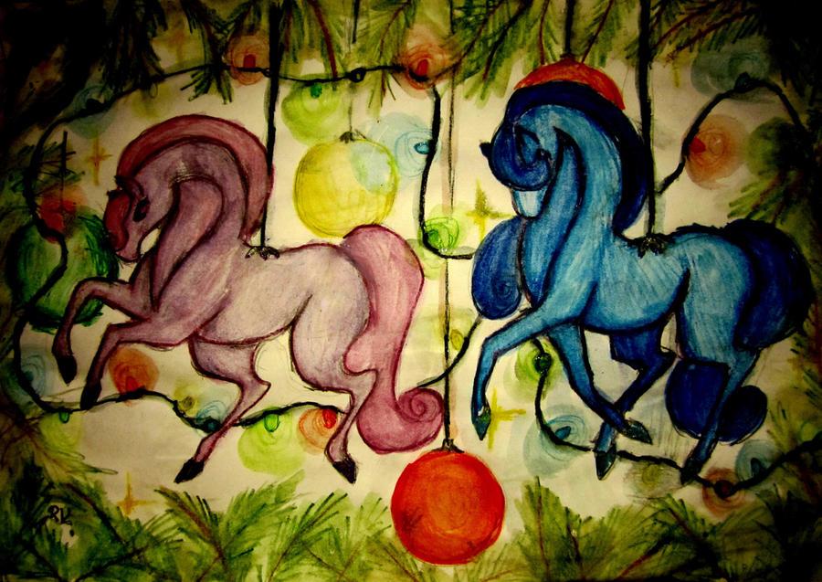 Happy christmas c: by Ronja-poni