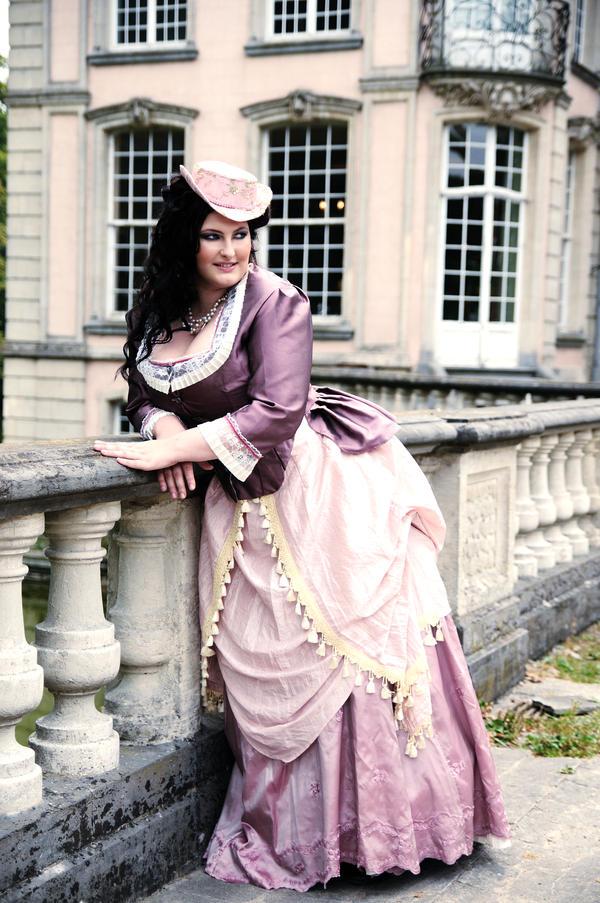 Pink victorian. by BlackvelvetModel