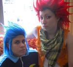 Isa and Lea :Blitz Cosplay