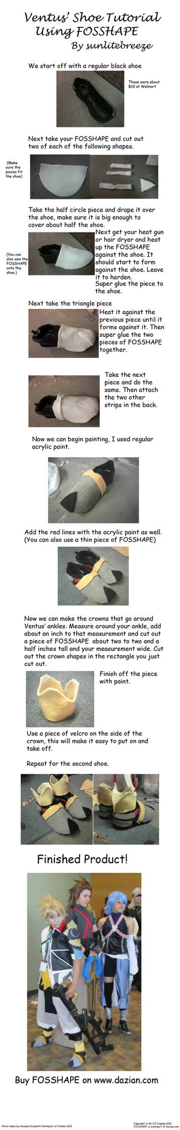 Ventus Shoe Tutorial by sunlitebreeze