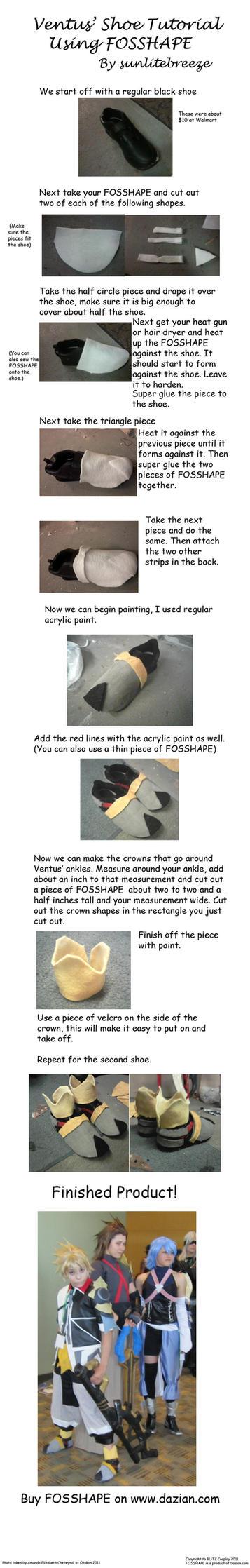 Ventus Shoe Tutorial by sunlitebreeze
