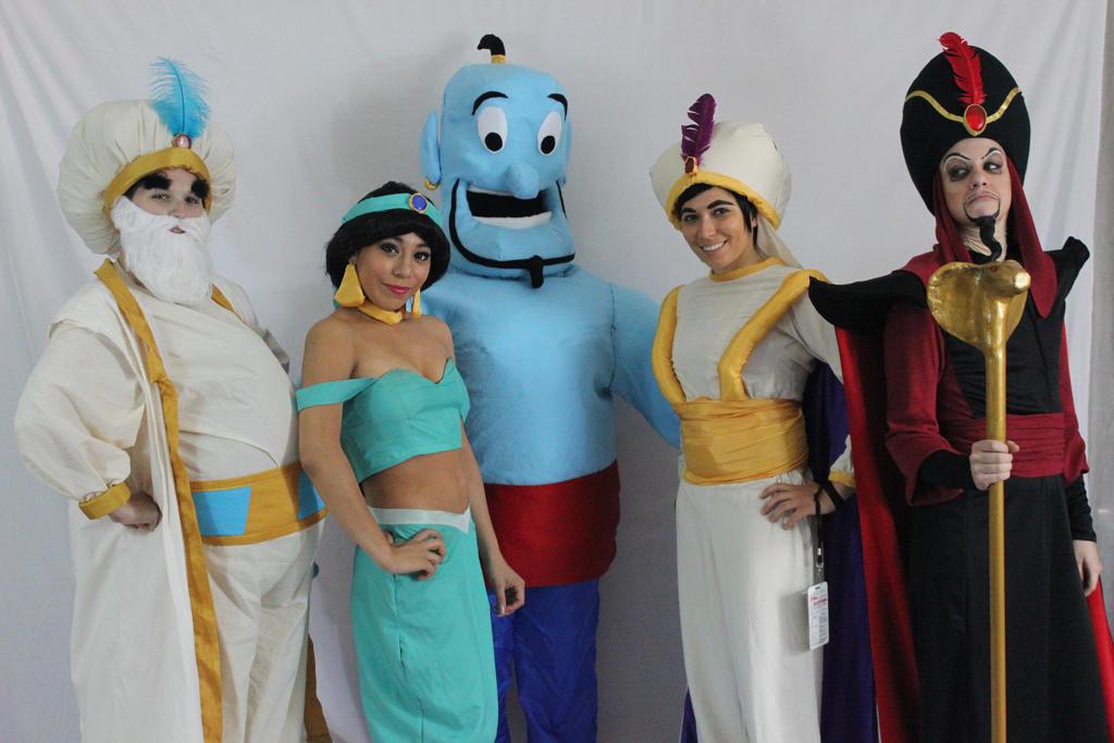 Aladdin Group by sunlitebreeze