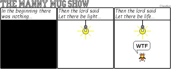 The Manny Mug Show by ClaudiusDK